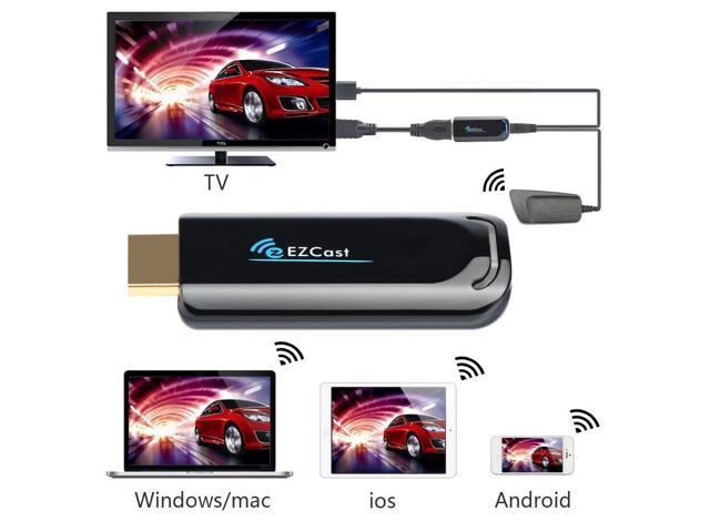 Wireless HDMI Streaming Media Player Wi-Fi Display Dongle Share ...