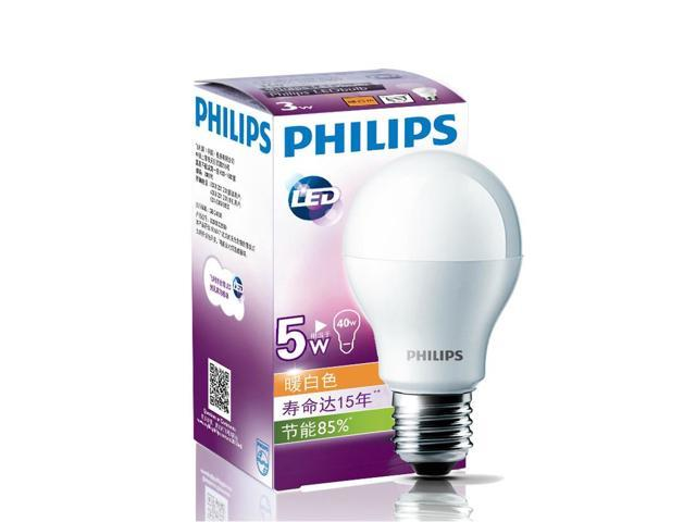 philips led 220 volt 240 volt 5 watt led light bulb e27 screw fitting warm white lamp 15 year. Black Bedroom Furniture Sets. Home Design Ideas
