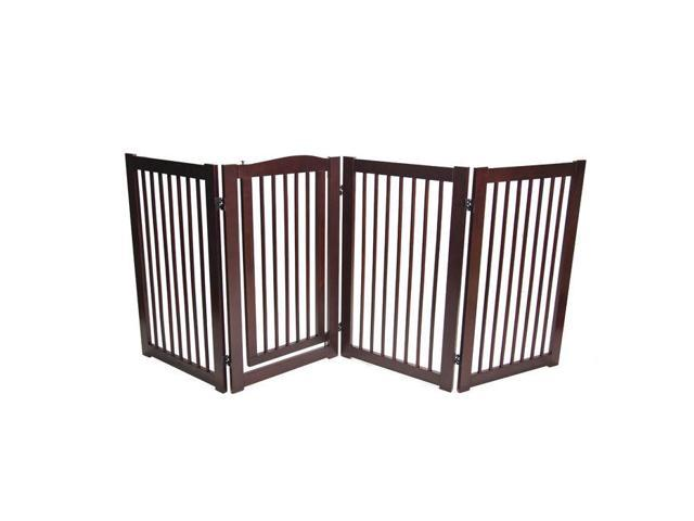Primetime Petz Home Indoor Safety Gate 360deg Configurable Safety Gate with Door 36