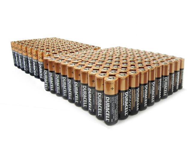 Duracell 100 Aa 100 Aaa Copper Top Alkaline Batteries