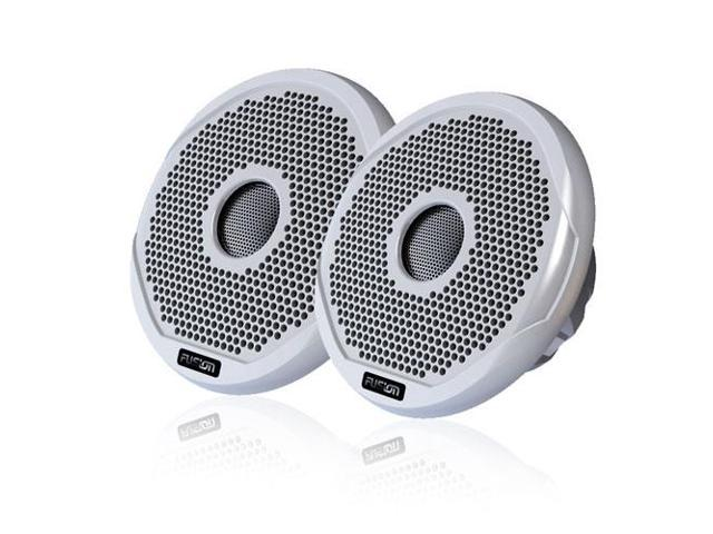 FUSION FR7022 7 Round 2 Way IPX65 Marine Speakers 260W Pair w 3 Grilles