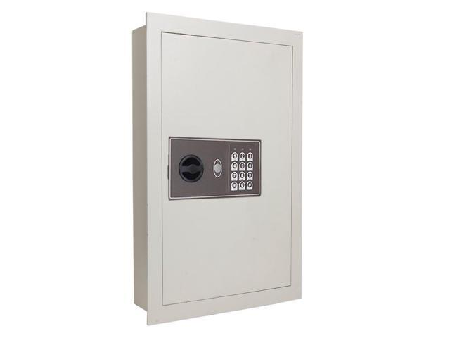 0 8 Flat Recessed Wall Electronic Safe Large Gun Secure