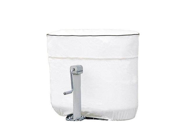 Double 30lb Propane Tank Cover - White - Fits Double 30lb - 7.5 Gal