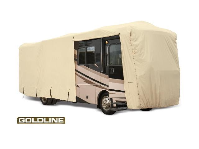 Goldline Class A RV Cover - Tan  - Fits  533