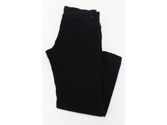 Lucky Brand Black Women's Straight Leg Pants Size 22W