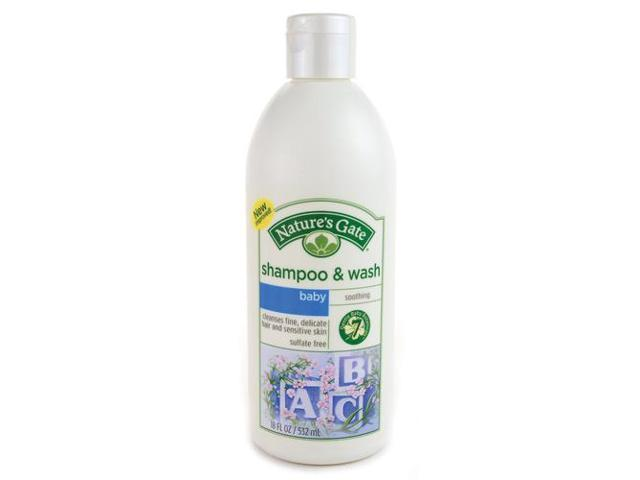 Nature Baby Shampoo & Wash - Nature's Gate - 18 oz - Liquid