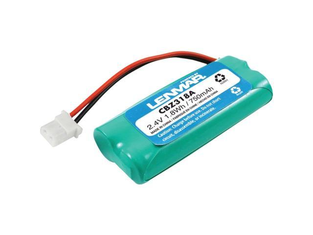 LENMAR CBZ318A Lenmar cbz318a replacement battery for at&t(r)/lucent technologies tl32100 cordless phones