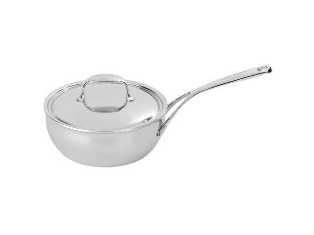 Demeyere Atlantis - 2.1 Qt Stainless Conic Saute Pan with Stainless Steel Lid