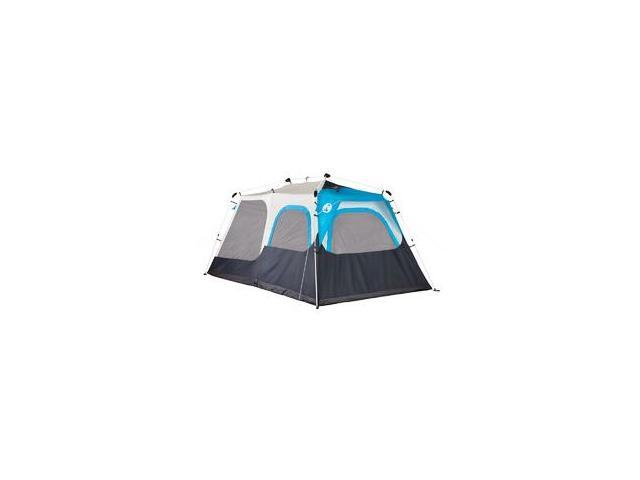 Coleman Instant Cabin 8 W/Mini-Fly Tnt Gry/Bl/Nvy 2000015672