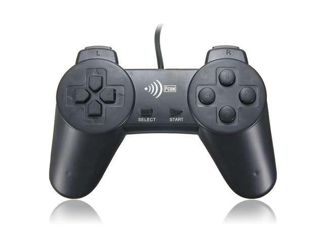 Wired USB 2.0 GamePad Game Pad Shock Joypad Joystick Controller for Window PC Computer Laptop