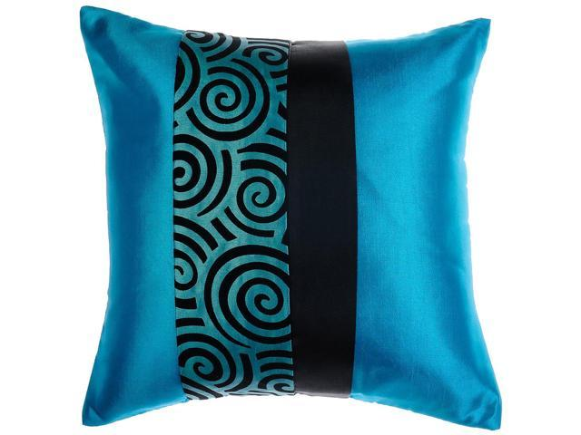 Avarada Striped Spiral Throw Pillow Cover Decorative Sofa Couch Cushion Cover Zippered 16x16 ...
