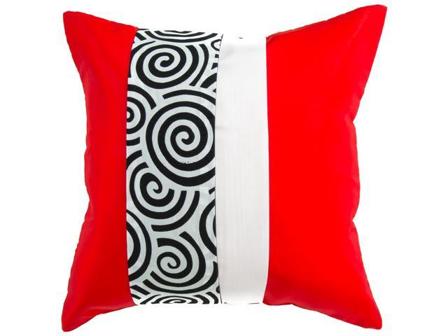 Throw Pillow Zipper Covers : Avarada Striped Spiral Throw Pillow Cover Decorative Sofa Couch Cushion Cover Zippered 16x16 ...