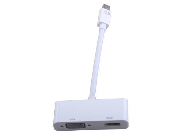 Megadream full hd 1080p mini dp display port to hdmi for Mini projector for macbook