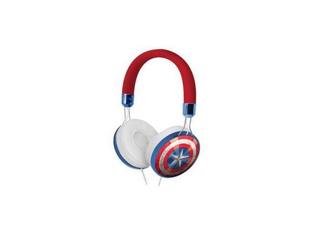 KIDdesigns CAM48FX Capt Amer Fashion on the ear Headphone