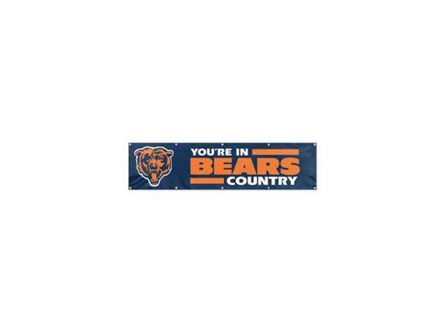 Chicago Bears 8' Wide Official Tailgate Banner