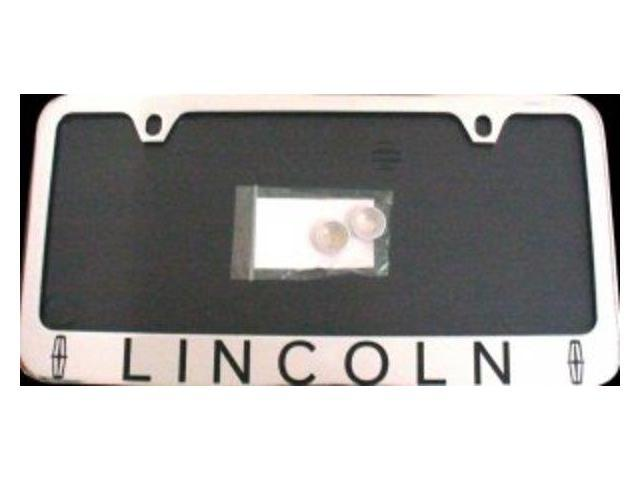 Lincoln Solid Brass Thin Top License Plate Frame - Newegg.com