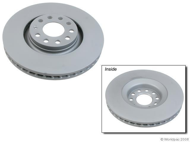 2007 2008 audi a4 quattro front disc brake rotor. Black Bedroom Furniture Sets. Home Design Ideas