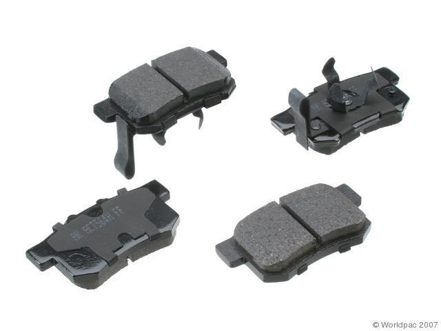 2010 2011 Honda Accord Crosstour Rear Disc Brake Pad