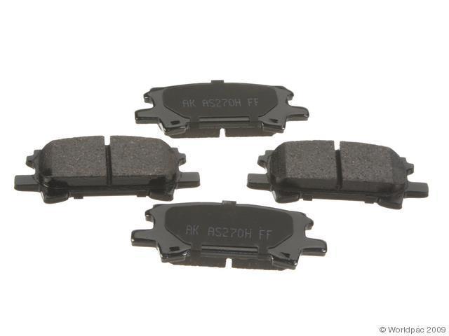 how to change rear brake pads on 2005 toyota highlander
