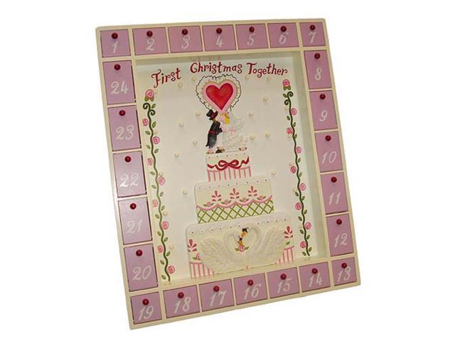 First Christmas Together Wedding Advent Calendar #J4179