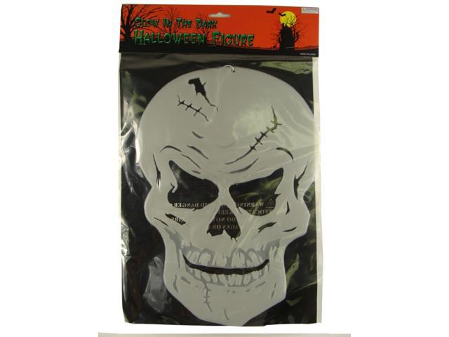Club Pack of 72 Scary Hanging Skeleton Skull Halloween Decorations