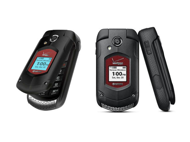 New Kyocera Dura XV E4520 Verizon Wireless f Flip Cell Phone with 5MP Camera - NON RETAIL PACKAGING