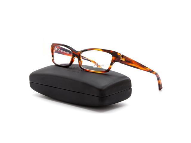 f02ad8c808 Alain Mikli AL 1026 Eyeglasses 0007 Amber Tortoise Brown Frame Clear