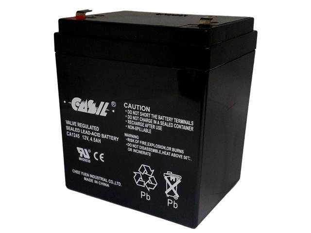 CASIL 12v 4.5ah Ion Block Rocker Uninterruptible Power Supply Audio