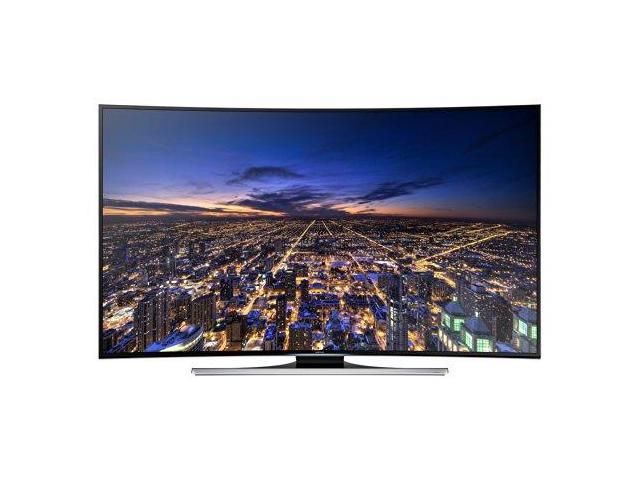 Samsung UN55HU8700 Curved 55-Inch 4K Ultra HD 120Hz 3D Smart LED TV (2014 Model)