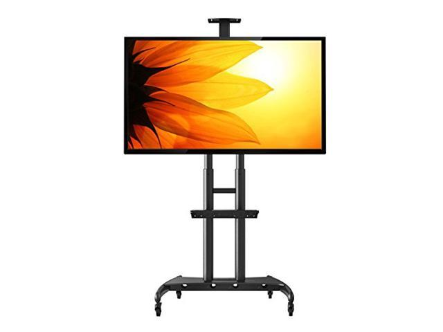heavy duty mobile tv cart tv stand with tvmount ava1800 70 1p for flat panel tv led lcd. Black Bedroom Furniture Sets. Home Design Ideas