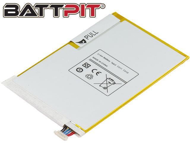 BattPit: Tablet Battery Replacement for Samsung SM-T3150ZWAAUT , Galaxy T310, SM-T310, SM-T311, SM-T315, AAD508JS/7-B