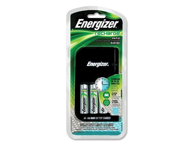 Energizer-Eveready 08241 - e2 AA AAA 15-30 Minute Rechargeable Charger (CH1HRCP-4 4-AA/AAA CHARGER)