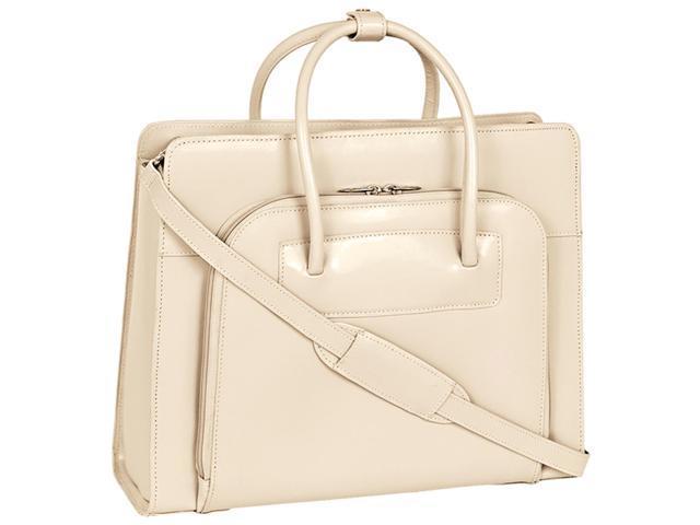 """McKlein Sand 15.4"""" LAKE FOREST W Series Ladies' Briefcase Model 94337"""