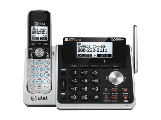 AT&T TL88102 Cordless Phone - 1.90 GHz - DECT 6.0