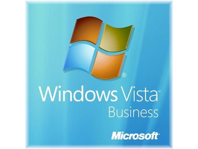 Microsoft Windows Vista Business SP1 32-bit for System Builders w/ Tech Guarantee