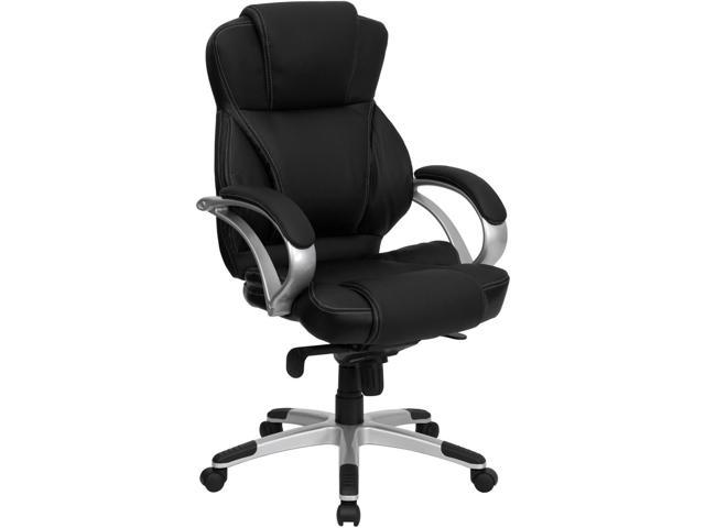 Flash Furniture High Back Black Leather Contemporary Office Chair [H-9626L-2-GG]