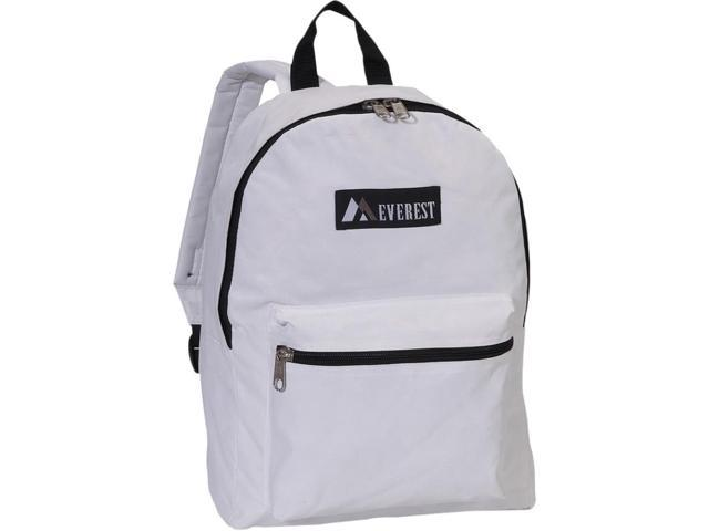 Everest 1045K-WH 15 in. Basic Backpack