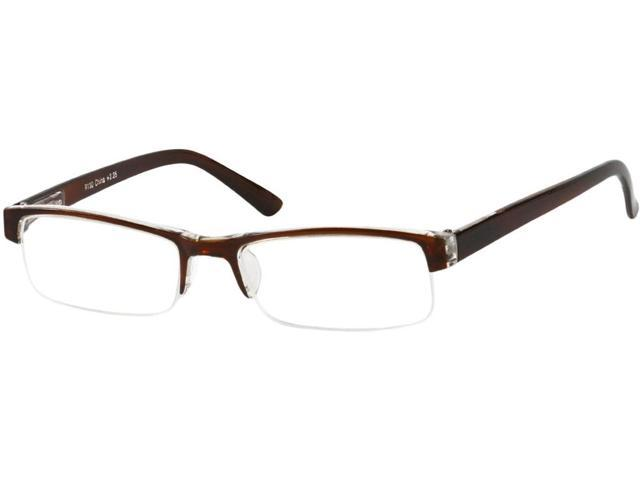 Glasses Frame Repair Coventry : Readers.com The Coventry +2.25 Brown/Clear Reading Glasses ...