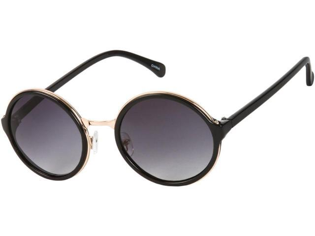 Sunglass Warehouse Sienna #5560 Black & Gold Frame with ...