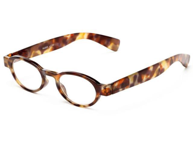 Eyeglass Frames Raleigh : Readers.com The Raleigh +2.25 Brown/Red Tortoise Reading ...