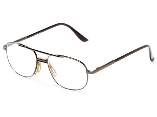 Glasses Frames Lubbock : Readers.com The Lubbock Bifocal +1.25 Grey Reading Glasses ...