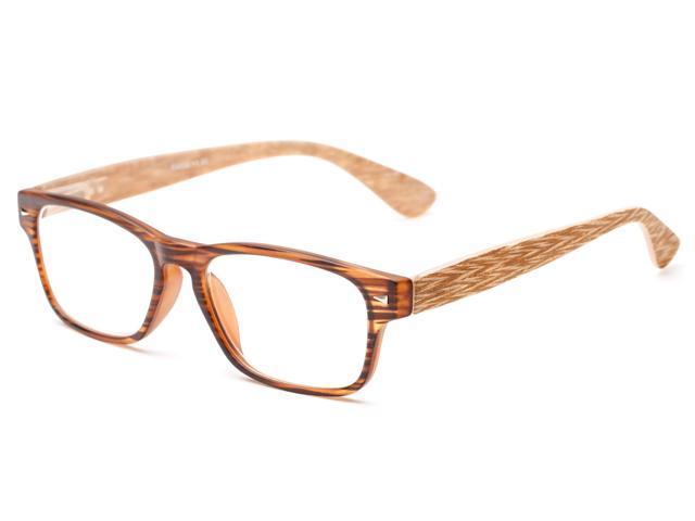 readers the oliver 1 50 brown stripe wood look