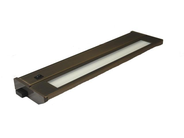 PRIORI Dark Bronze 14-Inch One-Light T2 Fluorescent Under Cabinet Light