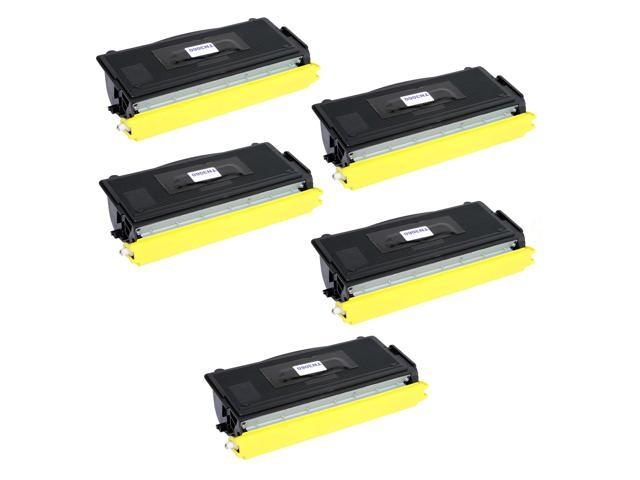 Compatible New York Toner 5 Pack Of Brother TN3060 Toner Cartridge - Black