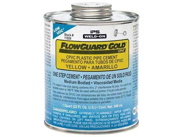 Ez flo weld on flowguard gold cpvc cement medium