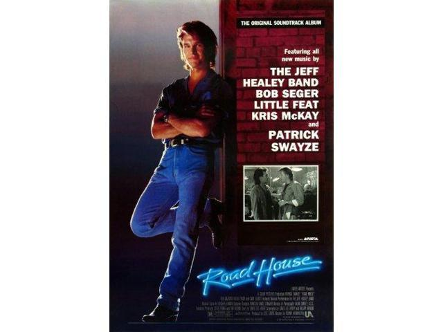 roadhouse patrick swayze movie poster 24x36 neweggcom