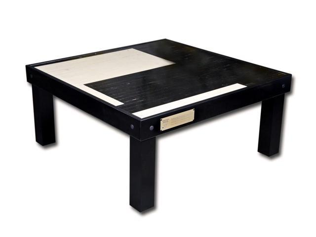 Chicago Bulls Game Used Floor 4x4 Coffee Table