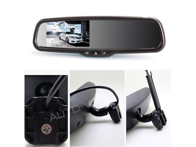 Auto Vox 4 3 Quot Lcd Display Rearview Mirror Monitor Auto