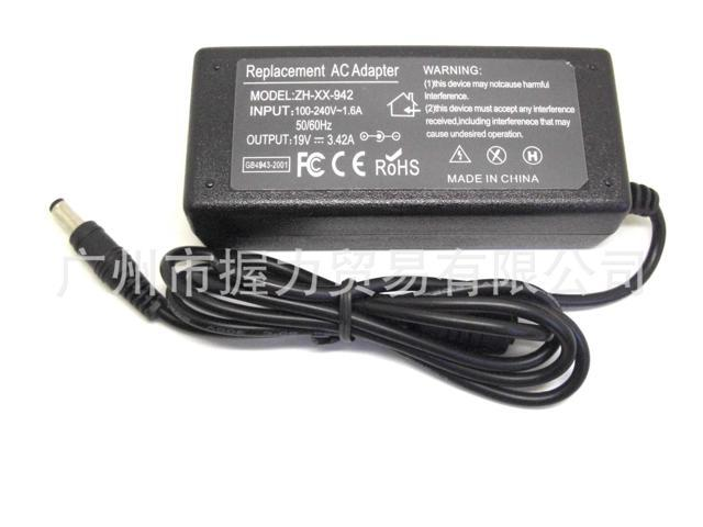 19v 3 42a 65w Laptop Ac Power Adapter Charger For Lenovo