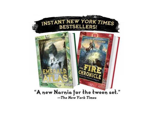 The Emerald Atlas Gift Bundle (The Books of Beginning)